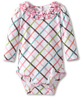 Vera Bradley - Long Sleeve Ruffle Bodysuit (Infant)