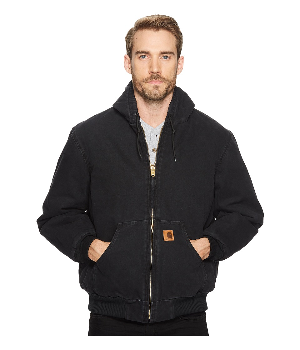 Carhartt - QFL Sandstone Active Jacket (Black) Mens Coat