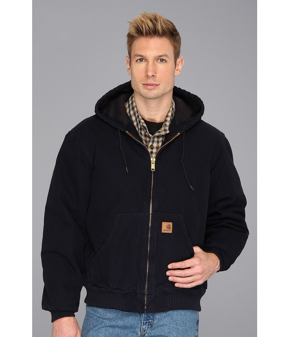 Carhartt Big Tall QFL Sandstone Active Jacket Midnight Mens Jacket