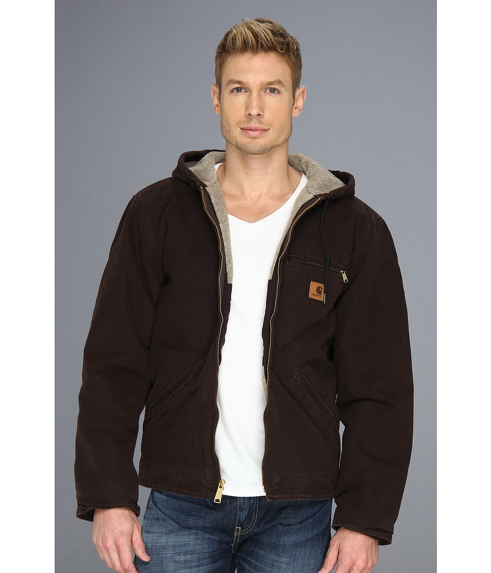 Carhartt Sierra Jacket Tall Dark Brown Mens Jacket