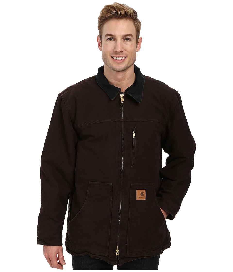 Carhartt - Sandstone Ridge Coat (Dark Brown) Mens Jacket