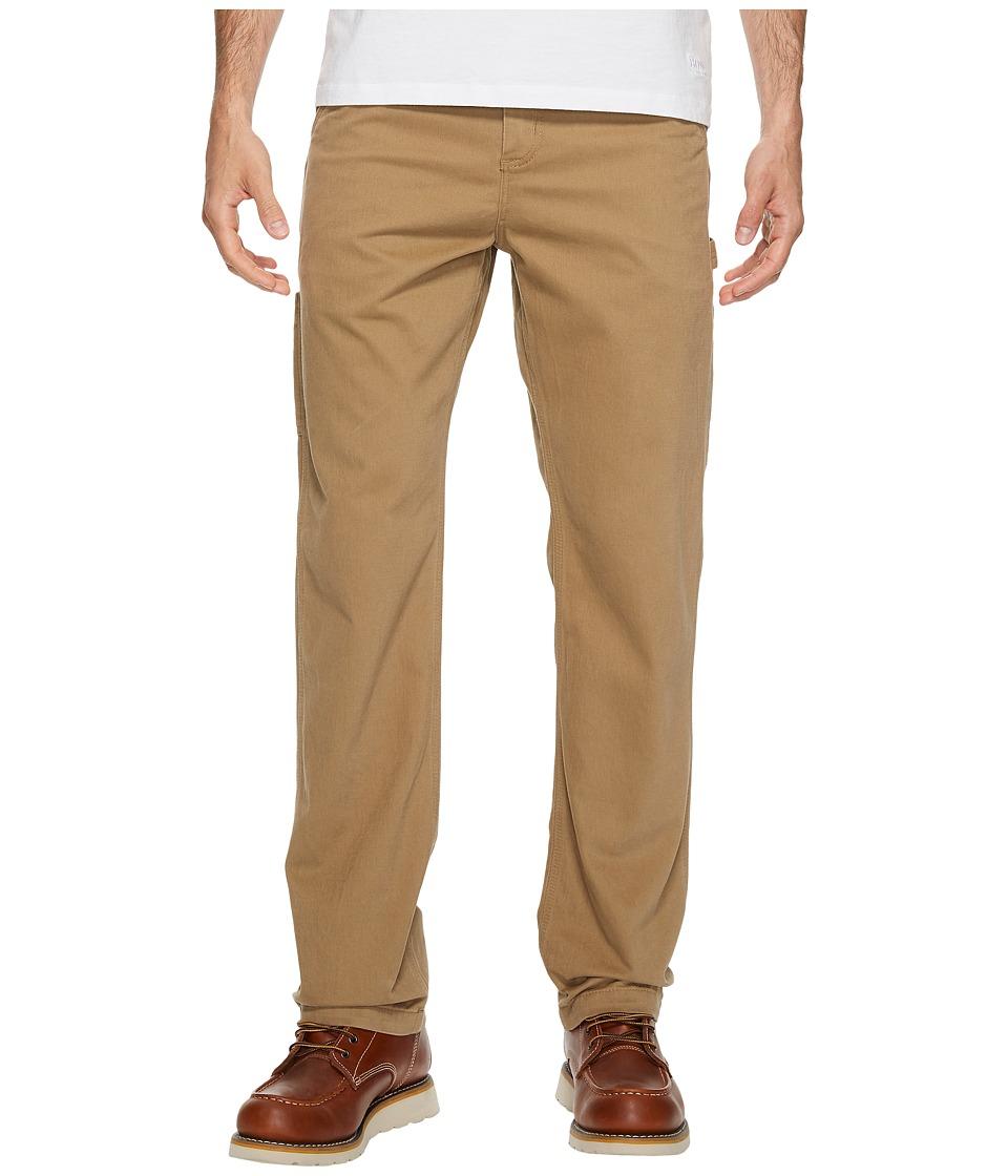 Carhartt Washed Twill Dungaree (Dark Khaki) Men's Jeans