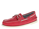 Sperry Top-Sider - A/O 2-Eye Washed (Coral) - Footwear
