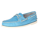 Sperry Top-Sider - A/O 2-Eye Washed (Light Blue) - Footwear