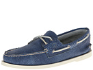 Sperry Top-Sider - A/O 2-Eye Washed (Navy) - Footwear