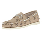 Sperry Top-Sider - A/O 2-Eye Tattoo (Chino Canvas) - Footwear