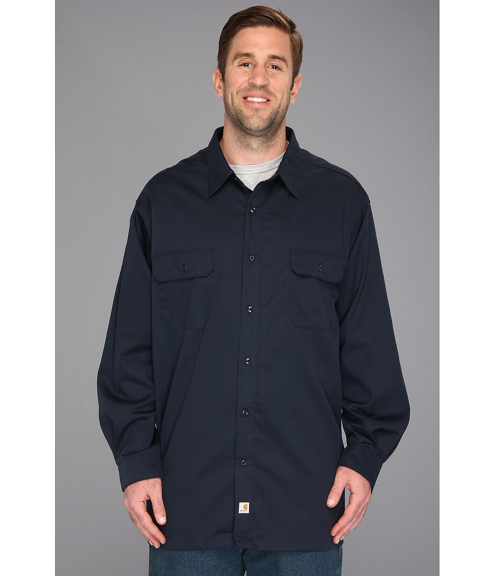 Carhartt - Big Tall Twill L/S Work Shirt