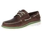 Sperry Top-Sider - Billfish Ultralite 3 Eye (Brown/Green)