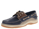 Sperry Top-Sider - Billfish 3-Eye Boat Shoe (Navy/Brown) - Footwear