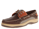 Sperry Top-Sider - Billfish 3-Eye Boat Shoe (Brown/Orange) - Footwear