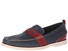 Sperry Top-Sider - Seaside Moc Penny (Blue/Red) - Footwear