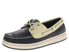 Sperry Top-Sider - Sperry Cup 2-Eye (Navy/Yellow) - Footwear