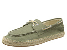 Sperry Top-Sider - Espadrille 2-Eye Canvas (Olive) - Footwear