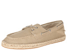 Sperry Top-Sider - Espadrille 2-Eye Canvas (Tan)