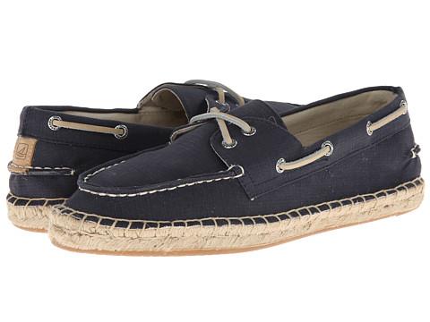 Sperry Top-Sider - Espadrille 2-Eye Canvas (Navy) - Footwear