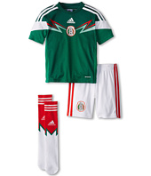 adidas Kids - Mexico Home Mini Kit (Toddler/Youth)