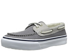 Sperry Top-Sider - Bahama 2-Eye Leather/Canvas (Grey/Light Grey)