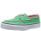 Sperry Top-Sider - Bahama 2-Eye Salt-Washed Twill (Green) - Footwear