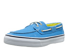 Sperry Top-Sider - Bahama 2-Eye Salt-Washed Twill (Blue) - Footwear