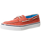 Sperry Top-Sider - Bahama 2-Eye Salt-Washed Twill (Red) - Footwear