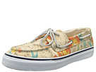Sperry Top-Sider - Bahama 2-Eye Vulc Hawaiian Print (White Print)