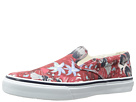 Sperry Top-Sider - Striper Slip On Vulc Hawaiian Print (Red Print)