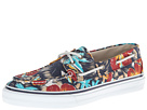 Sperry Top-Sider - Bahama 2-Eye Vulc Hawaiian Print (Navy Print) - Footwear