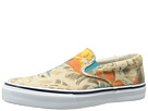 Sperry Top-Sider - Striper Slip On Vulc Hawaiian Print (White Print) - Footwear