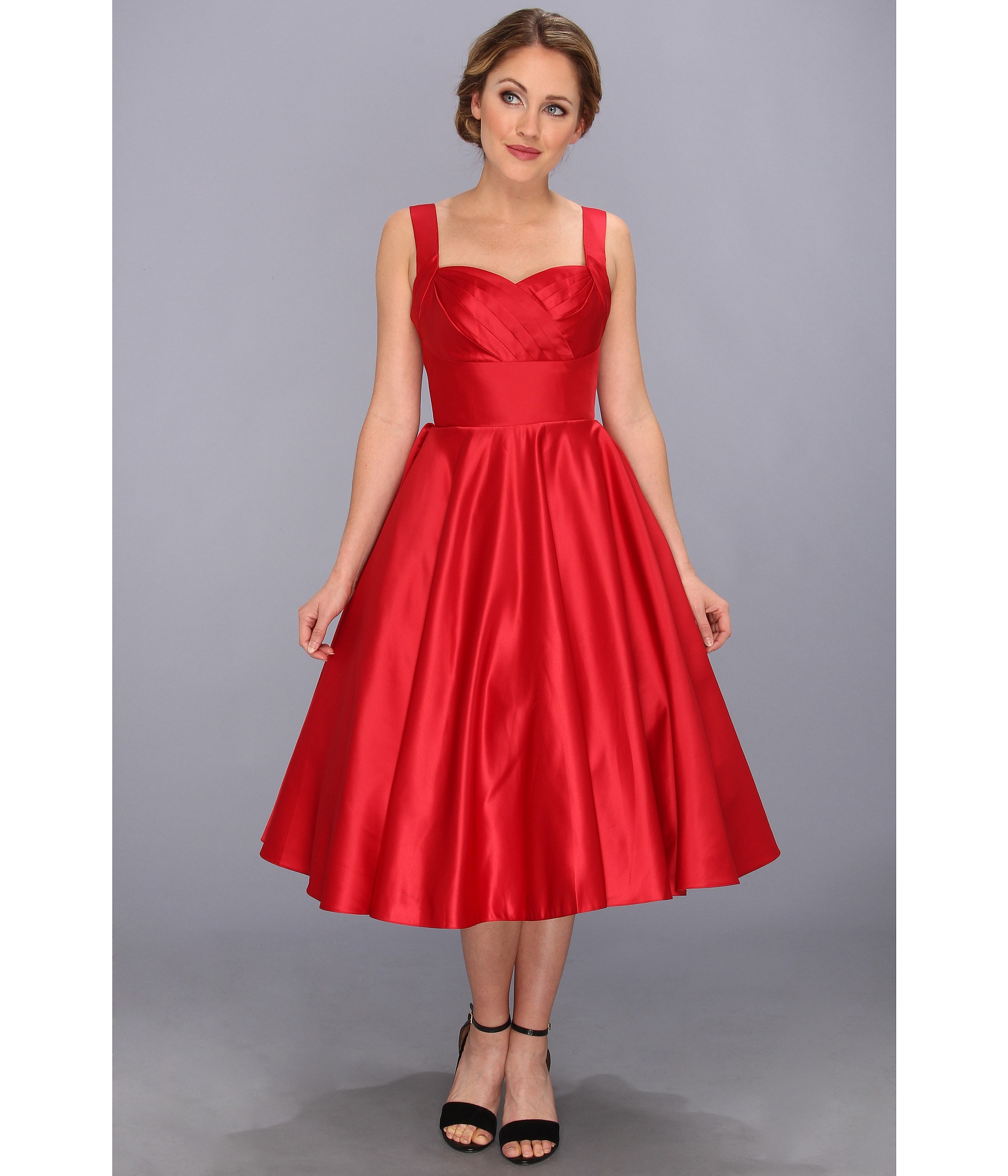 Silver Stars Alissa Red Dress 1 Pictures to pin on Pinterest