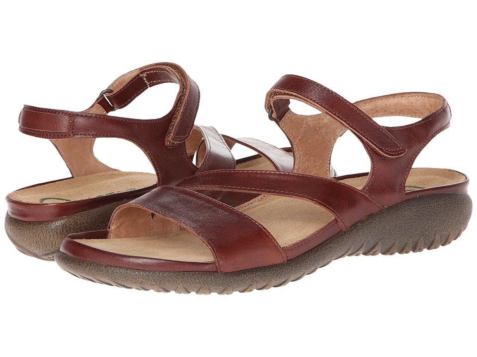 Naot Footwear - Etera (Luggage Brown Leather) Women