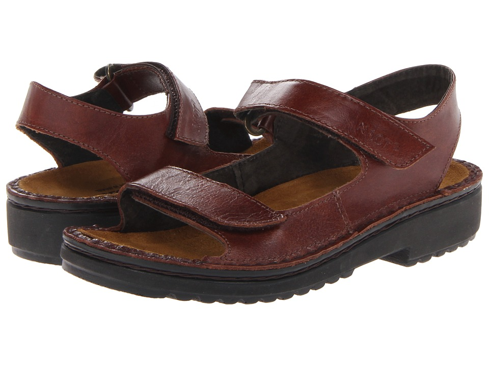 Naot Karenna (Luggage Brown Leather) Sandals