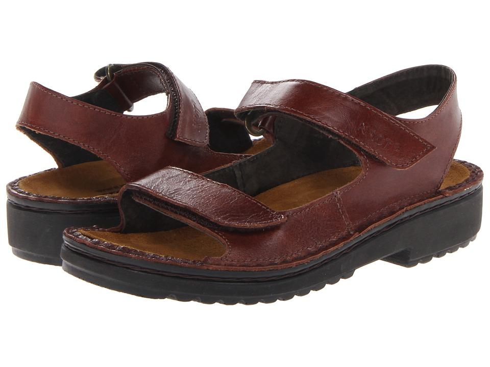 Naot Footwear Karenna (Luggage Brown Leather) Sandals