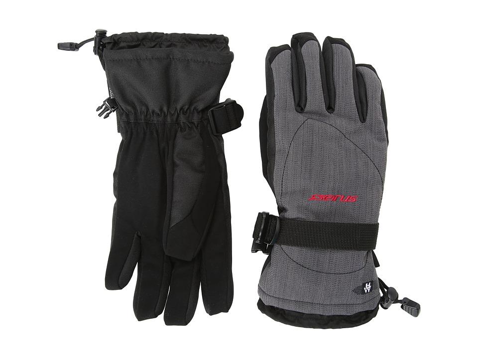 Seirus Heatwave Zenith Glove Heather Charcoal Extreme Cold Weather Gloves