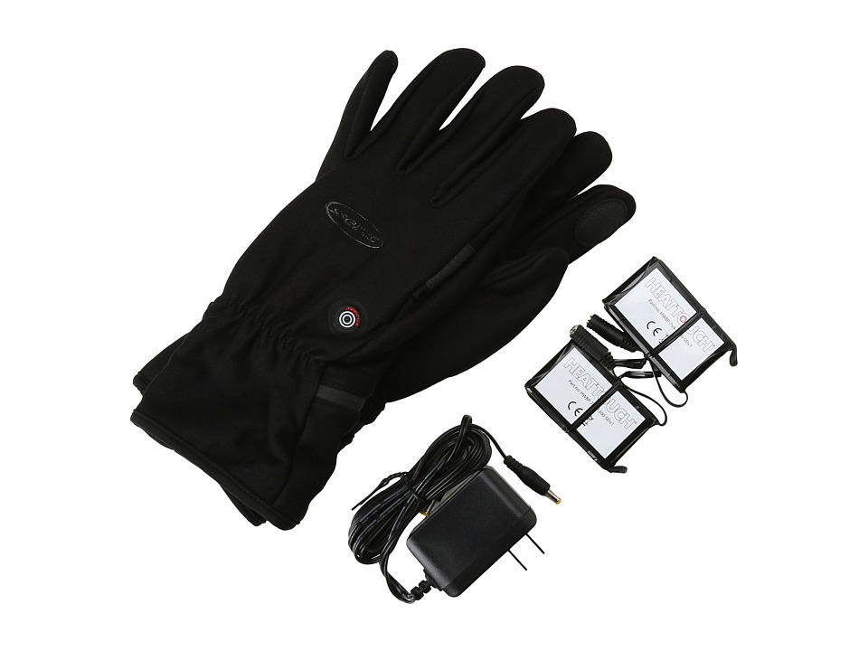 Seirus Heat Touchtm Hyperlitetm Glove (Black) Extreme Cold Weather Gloves