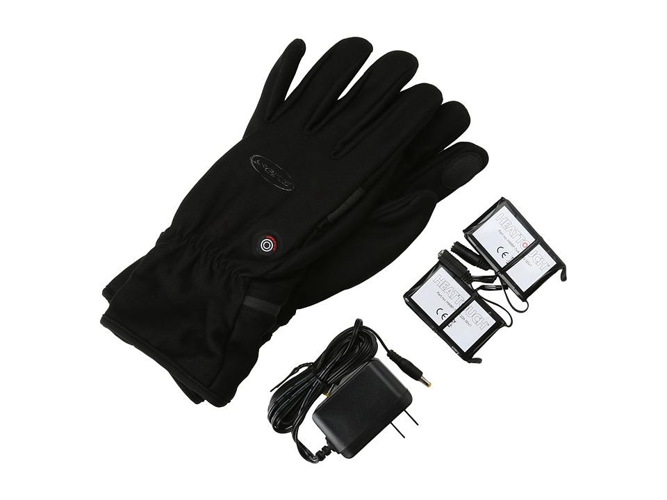 Seirus Heat Touch Hyperlite Glove (Black) Extreme Cold Weather Gloves