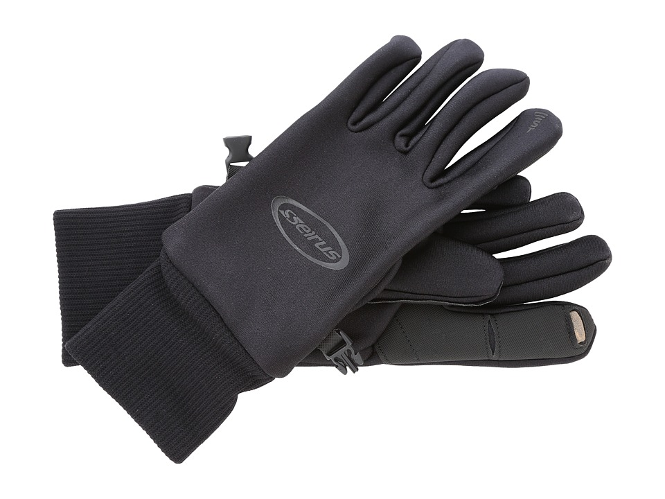 Seirus Soundtouchtm All Weathertm Glove (Black) Extreme Cold Weather Gloves