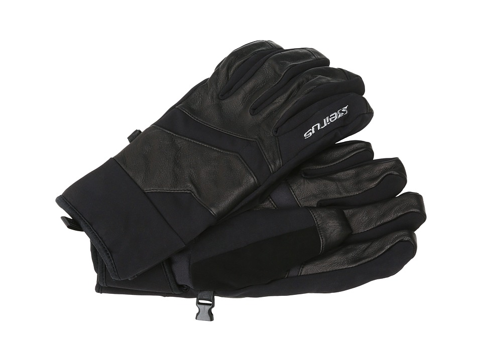 Seirus Xtremetm Edge All Weathertm Glove (Black) Extreme Cold Weather Gloves