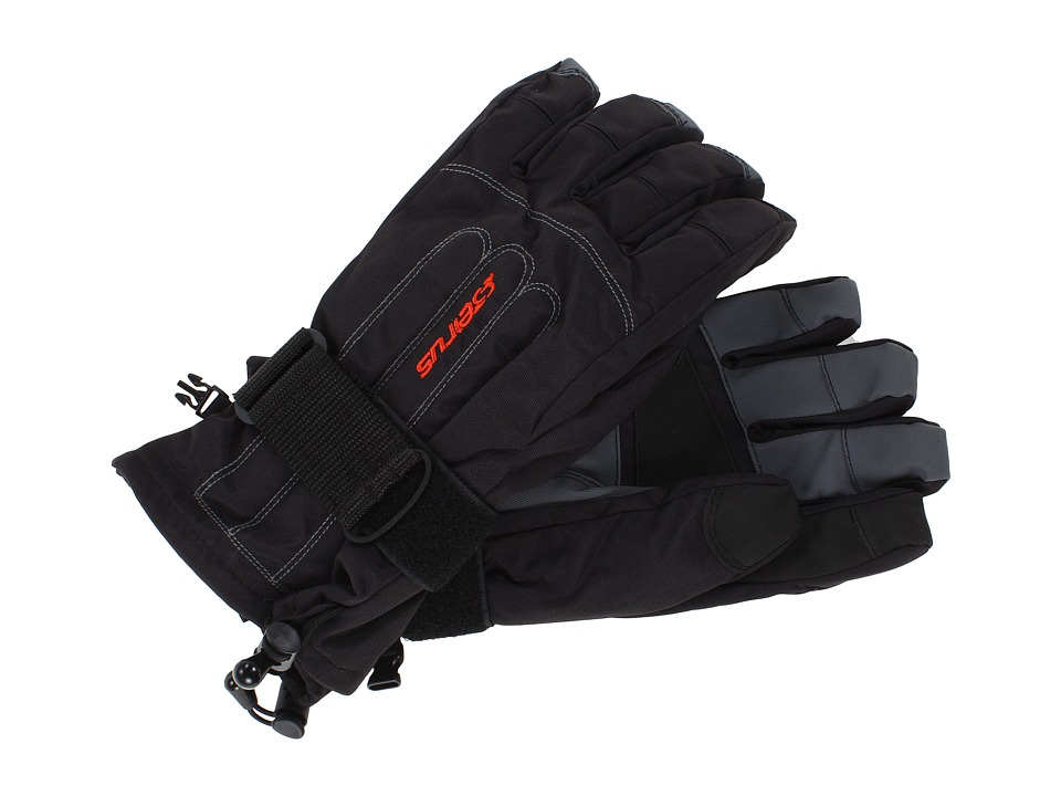 Seirus Skeleton Glove Black Extreme Cold Weather Gloves