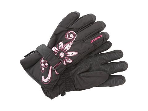 Seirus Jr Meadow Glove - Black/Fuchsia