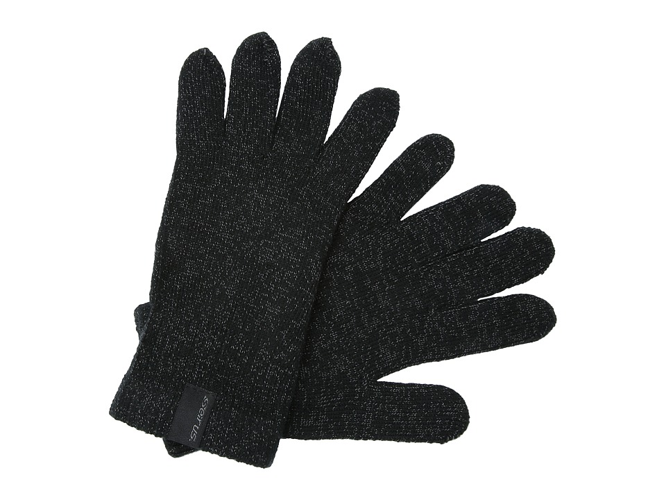 Seirus Soundtouchtm Knit Glove Liner (Black) Extreme Cold Weather Gloves
