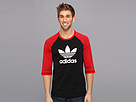 adidas Originals Three-Quarter Raglan Top