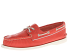 Sperry Top-Sider - A/O 2 Eye (Neon Coral/Silver) - Footwear