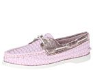 Sperry Top-Sider - A/O 2 Eye (Light Pink Woven) - Footwear