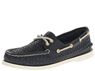 Sperry Top-Sider - A/O 2 Eye (Navy Woven) - Footwear