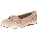 Sperry Top-Sider - Angelfish (Oat/Pink XL Sealife (Sequins)) - Footwear