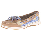 Sperry Top-Sider - Angelfish (Linen/Blue XL Sealife (Sequins)) - Footwear