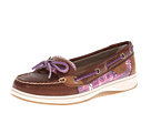 Sperry Top-Sider - Angelfish (Tan/Purple XL Sealife (Sequins))