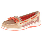 Sperry Top-Sider - Angelfish (Linen/Hot Coral Sporty Mesh) - Footwear