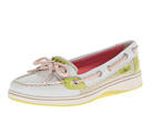 Sperry Top-Sider - Angelfish (White/Lime Sporty Mesh) - Footwear