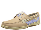 Sperry Top-Sider - Bluefish 2-Eye (Linen/Blue Floral (Sequins)) - Footwear
